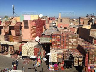 モロッコ マラケシュの市場の写真・画像素材[3116377]