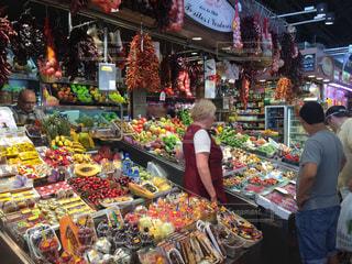 スペインのマーケットの写真・画像素材[3194976]