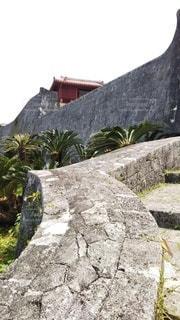 石垣の写真・画像素材[3092658]