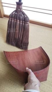 棕櫚箒とはりみの写真・画像素材[3106447]