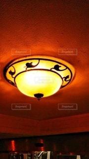 照明~上海のレトロなホテルにての写真・画像素材[3107593]