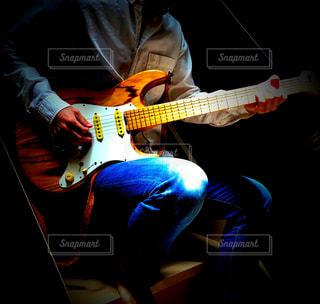 お気に入りギターの写真・画像素材[3224635]