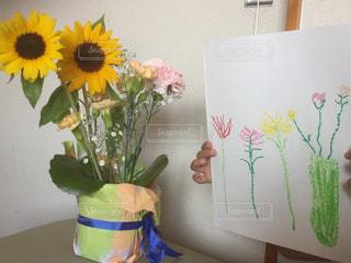 お花を描いたよ!の写真・画像素材[3225678]