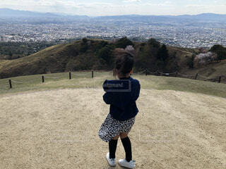 山からの景色の写真・画像素材[4600135]