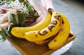 テーブル,果物,バナナ