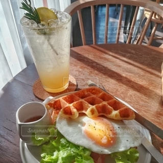 休日の朝食の写真・画像素材[3104575]