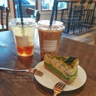 カフェでひと休みの写真・画像素材[3104583]