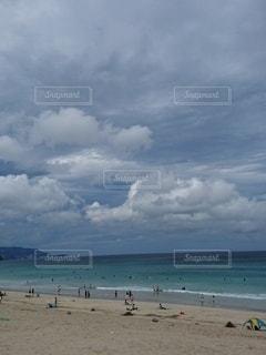 青い空と海の写真・画像素材[3106116]