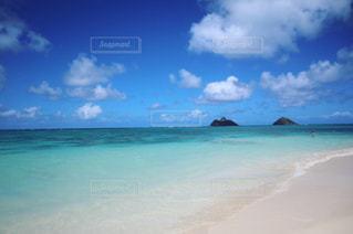 ラニカイビーチの写真・画像素材[3132160]