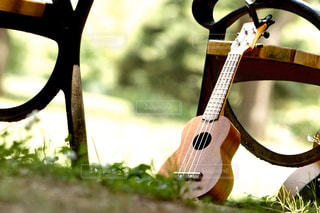 小さなギターの写真・画像素材[3202650]