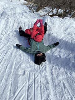 冬,雪,屋外,運動,姉妹,ウィンタースポーツ,そり遊び,6歳差