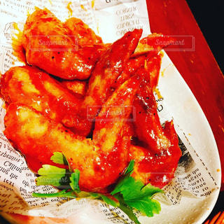 食べ物の皿の写真・画像素材[3107993]