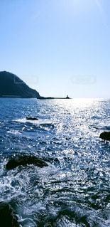 嵐の前の日本海の写真・画像素材[3113004]