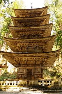羽黒山五重塔の写真・画像素材[3113757]