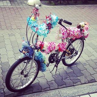 自転車の写真・画像素材[205294]