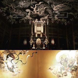 京都,観光,龍,観光スポット,侍,古都,禅,建仁寺,禅寺,屏風,最古,風神雷神