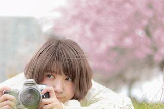 美少女カメラマンの写真・画像素材[3165688]
