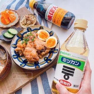 ミツカン調味料で和食ごはんの写真・画像素材[3909567]