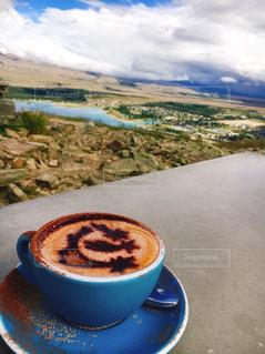 アストロカフェのコーヒーの写真・画像素材[3113516]