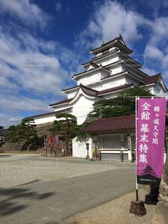 鶴ヶ城の写真・画像素材[3115386]