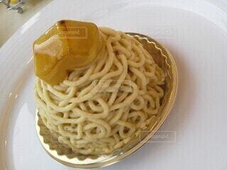 京都で食べたモンブランの写真・画像素材[3826845]