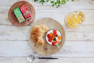ベジぷるメインの朝食の写真・画像素材[4279922]