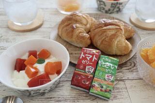 ベジぷるがあると簡単朝食できるよの写真・画像素材[4279923]