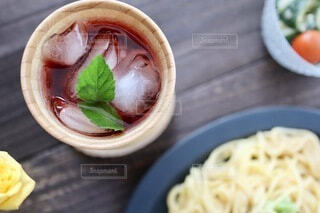 飲むお酢の写真・画像素材[4738337]