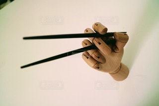 箸の持ち方の写真・画像素材[3134459]