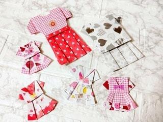 折り紙の洋服の写真・画像素材[3356223]