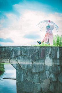雨があがったの写真・画像素材[4616018]