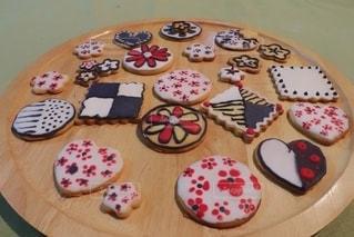 アイシングクッキーの写真・画像素材[3195868]