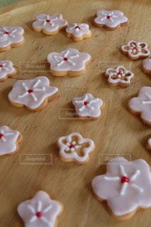 桜クッキーの写真・画像素材[3195866]