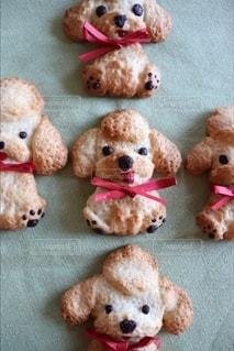 わんこクッキーの写真・画像素材[3195876]