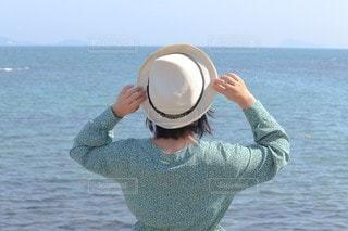 夏の女のコの写真・画像素材[3454843]