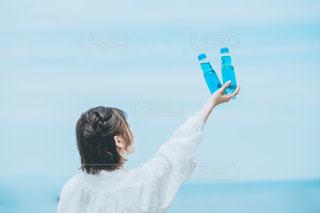 空とラムネの写真・画像素材[3304844]