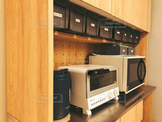 食器棚の収納の写真・画像素材[4161328]