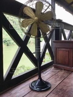 レトロな扇風機の写真・画像素材[3433681]