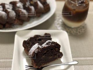 ココアパウンドケーキの写真・画像素材[3231537]