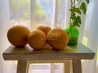 草木とオレンジの写真・画像素材[3164348]