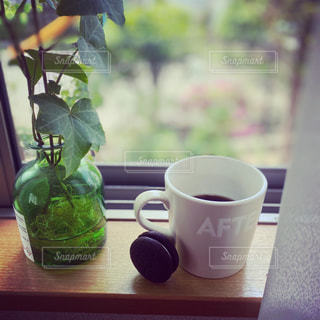 コーヒーとお菓子の写真・画像素材[3175818]