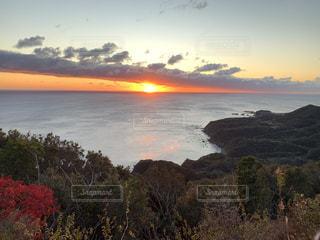 自然,風景,海,空,屋外,水面,海岸,朝焼け,日の出,眺め,クラウド