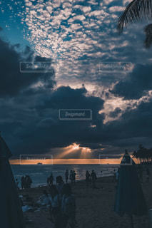 ハワイのサンセットの写真・画像素材[3156974]
