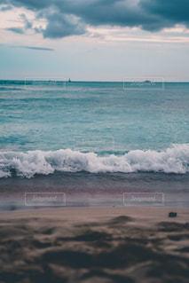 ワイキキビーチの絶景の写真・画像素材[3580239]