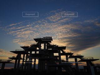風景,絶景,屋外,雲,夕方,日没,建造物,展望台,人工物,富津,富津岬