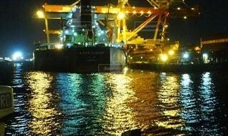 港にての写真・画像素材[4117375]
