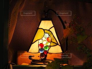 葡萄模様のスタンドの写真・画像素材[4574551]