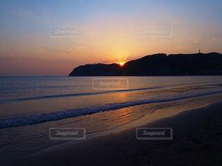 夕陽...の写真・画像素材[3222308]