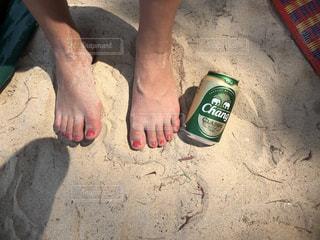自然,海,夏,ビーチ,人,ボトル,ビール,タイ