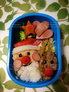 お弁当 クリスマスver.の写真・画像素材[3175002]